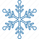 christmas, new year, snow, snowflake, winter icon