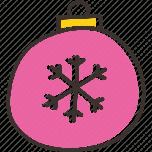 ball, bauble, celebration, christmas, decoration icon