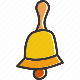 bell, celebration, christmas, church, jingle, new year, procession icon