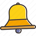 bell, christmas, church, jingle, new year, ring icon