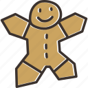 christmas, cookie, xmas icon