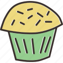 cake, christmas, cup cake, dessert, muffin, new year, pastry icon