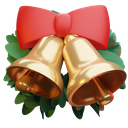 bells, christmas, decoration icon