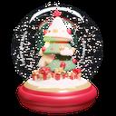 snowglobe, christmas, winter, decoration
