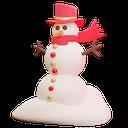 snowman, winter, cold icon