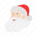 christmas, gift, santa, santa claus icon