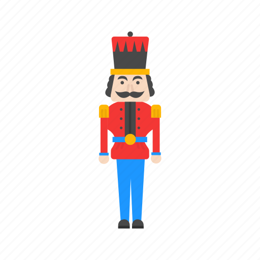 christmas, christmas soldier, nutcracker, soldier icon