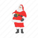 christmas, gifts, santa, santa claus icon