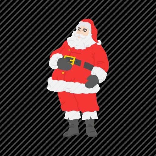 christmas, gifts, santa, santa claus icon