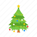 christmas, christmas tree, decoration, pine tree icon