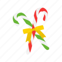 candy, candy cane, christmas, sweets icon