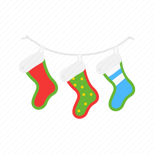 christmas, gifts, stocking, stockings icon