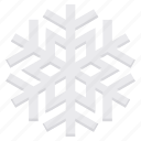 celebration, christmas, decoration, ice, snowflake, xmas icon