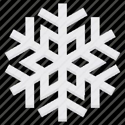 celebration, christmas, decoration, ice, snowflake, xmas icon