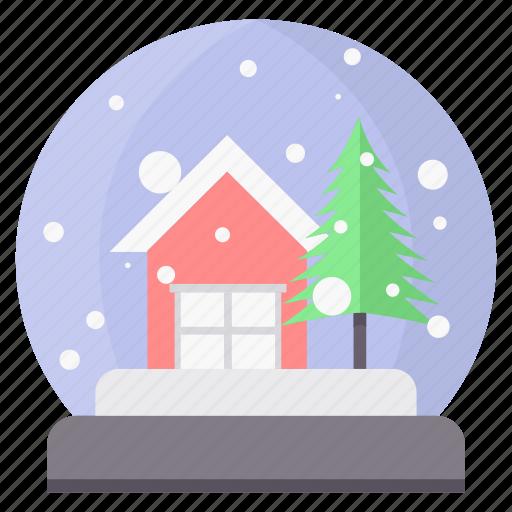christmas, church, home, house, santa, tree icon