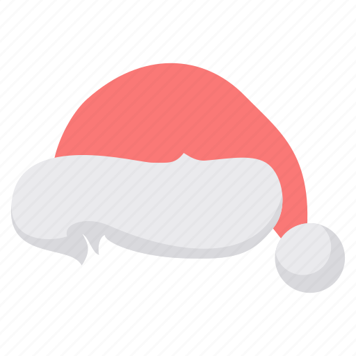 christmas, claus, hat, santa, winter, woollen, xmas icon