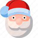 claus, christmas, avatar, santa, celebration, winter