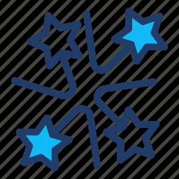 carnival, celebration, christmas, firework icon