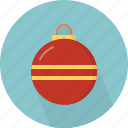 ball, christmas, circle, december, holiday, winter, xmas icon