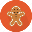 animal, christmas, circle, cookie, december, holiday, winter, xmas icon