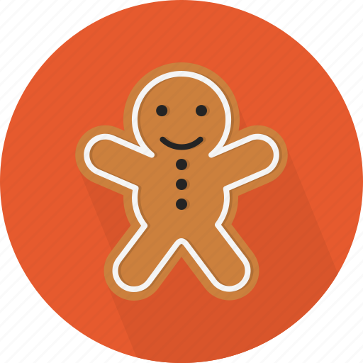 animal, christmas, circle, cookie, december, holiday, winter, xmas icon