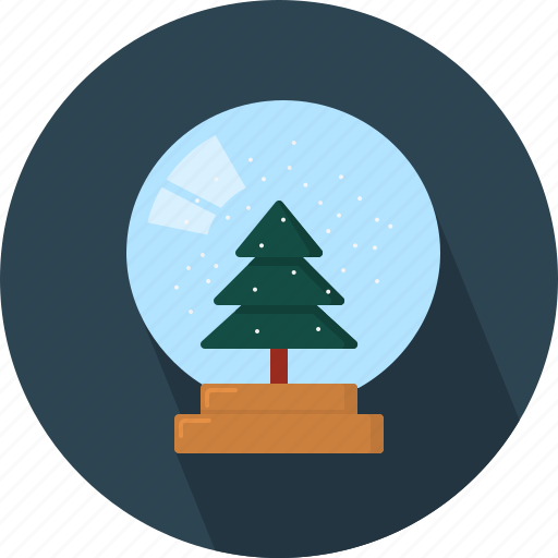 ball, circle, crystal, december, holiday, winter, xmas icon