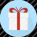 box, winter, gift, december, christmas, circle, holiday, xmas, present icon