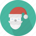 character, christmas, circle, december, holiday, santa, winter, xmas icon