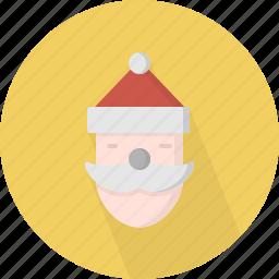 character, christmas, circle, december, holiday, santa, winter, xmas icon