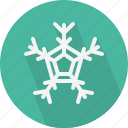 christmas, circle, december, flake, holiday, snow, winter, xmas icon