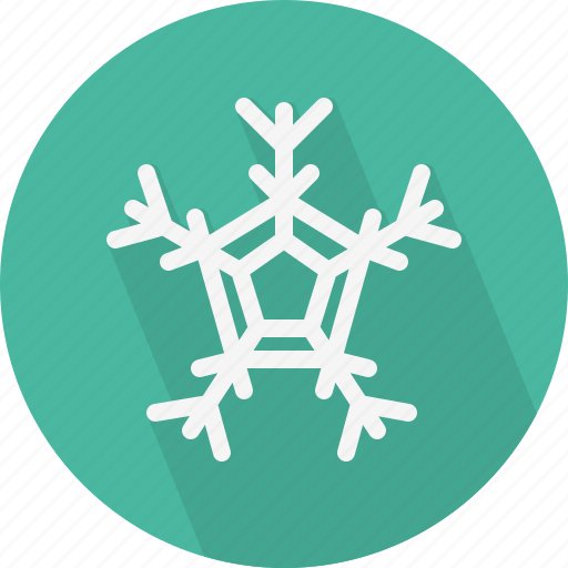 christmas, circle, december, flake, holiday, snow, winter, xmas icon