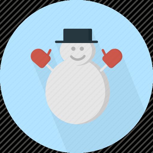 character, christmas, circle, december, holiday, man, snow, winter, xmas icon
