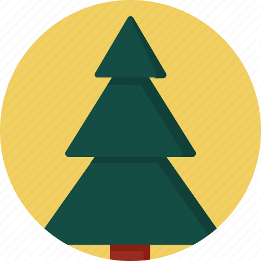 christmas, circle, december, holiday, tree, winter, xmas icon