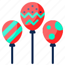 congratulation, party, decoration, celebration, balloons