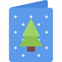 card, christmas, holidays, new year, winter icon