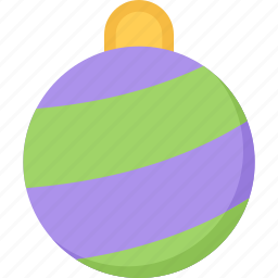 ball, christmas, holidays, new year, winter icon