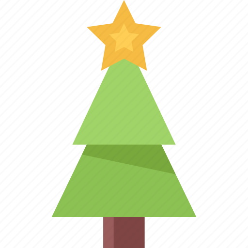 christmas, fir, holidays, new year, tree, winter icon