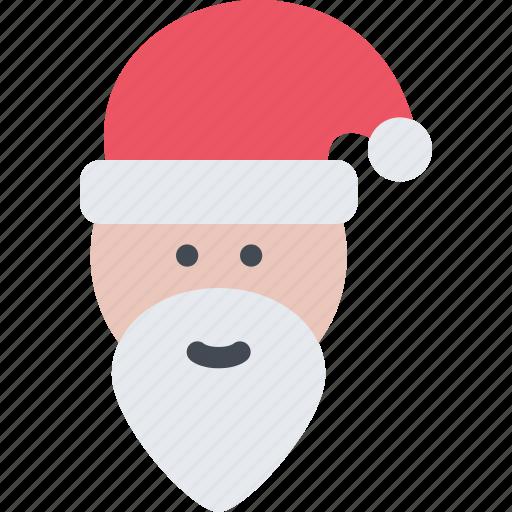 christmas, claus, holidays, new year, santa, winter icon