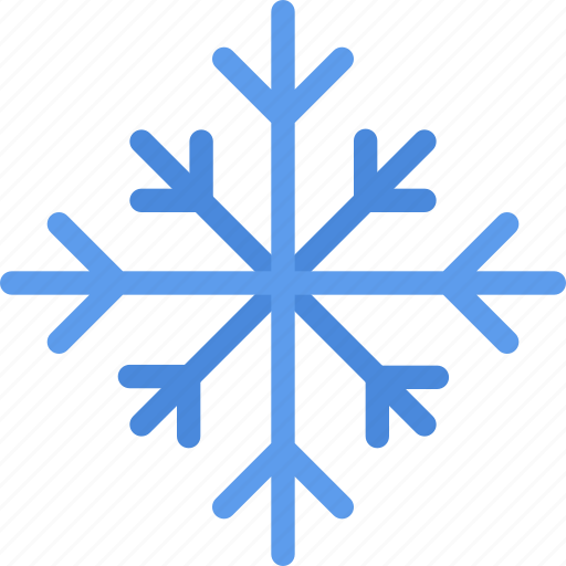 christmas, holidays, new year, snowflake, winter icon