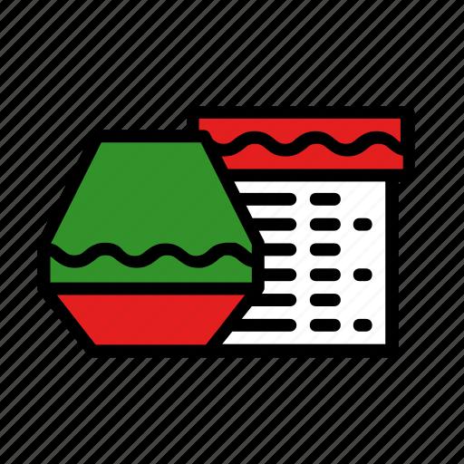 box, christmas, gift, new year, present icon