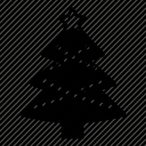 celebration, christmas, decoration, tree, winter, x-mas icon