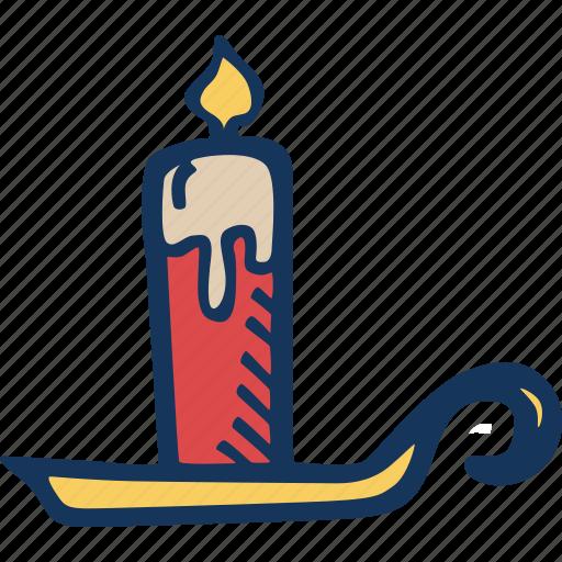 candle, celebration, christmas, decoration, holiday, holidays, xmas icon