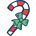 candy, candy cane, cane, christmas, christmas tree, decoration, holidays icon