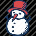 christmas, holidays, snowman, winter