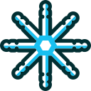 christmas, flake, snow, snowflake, winter, xmas icon