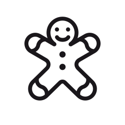 candy, christmas, cookie, gingerbread, gingerbread-man, man icon