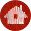 cloth, fabric, home, house, index, index page, knitwear, red, white, window icon