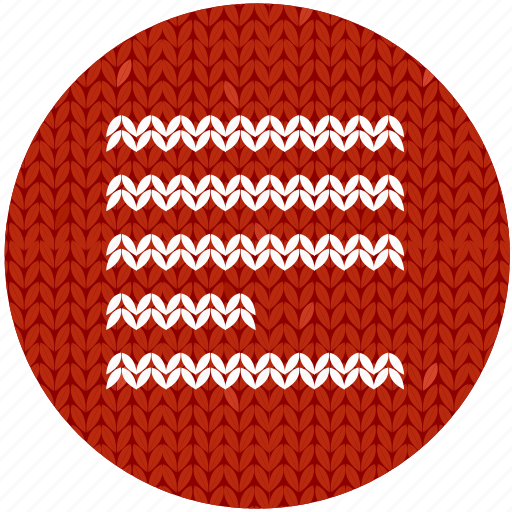 cloth, fabric, knitwear, menu, page, red, text icon