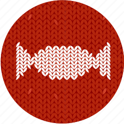 candy, christmas, cloth, fabric, knitwear, red, sweet icon