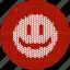 cheerful, cloth, emoticon, fabric, knitwear, positive icon